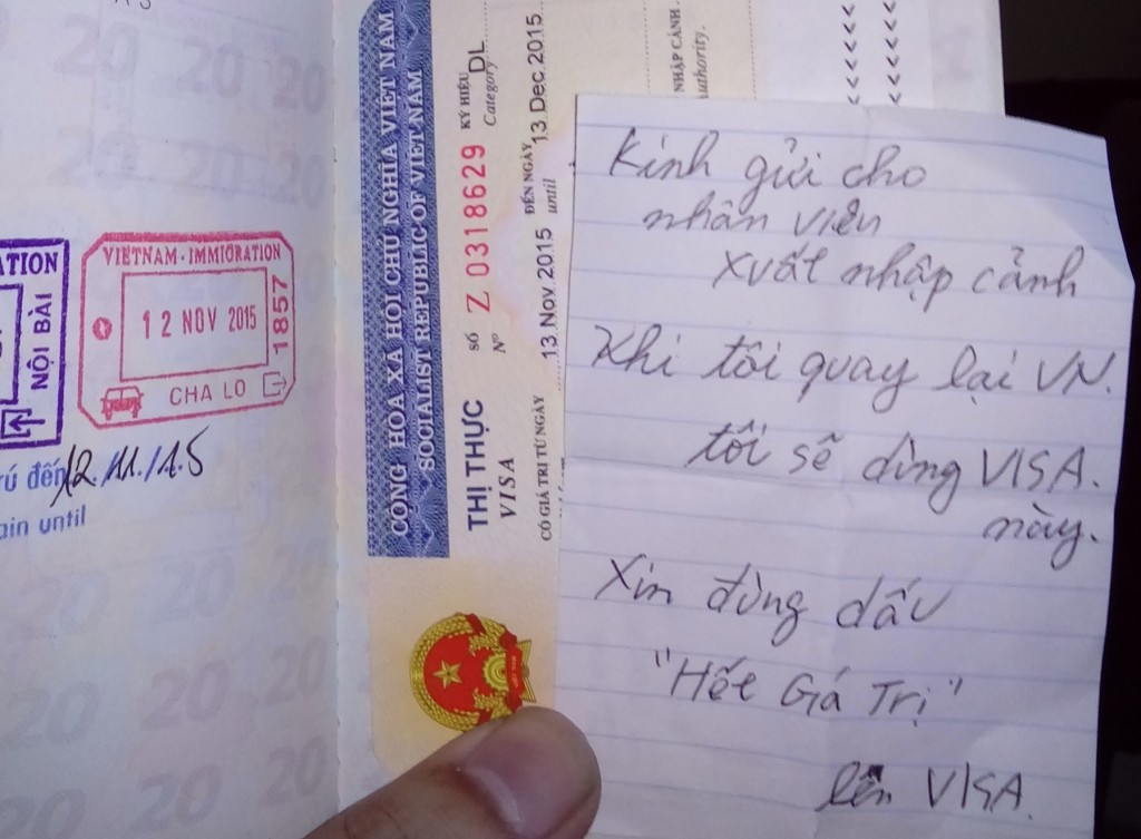ベトナム中北部・ハティンよりラオス中部ターケークへのゆき方