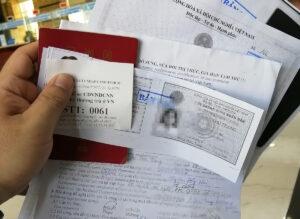 ベトナム人の配偶者むけのビザ免除とスタンプの更新②